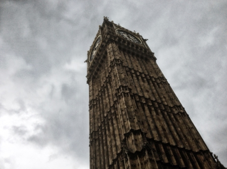 The Palace of Westminster clock tower, containing Big Ben