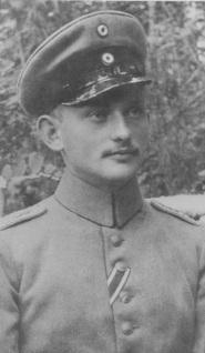Lieutenant Alfred von Prondzynski