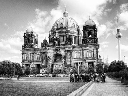 Berlin Cathedral front elevation